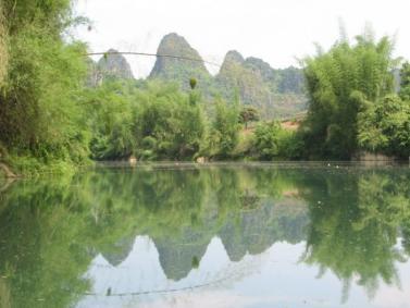 美丽小桂林--田东印象