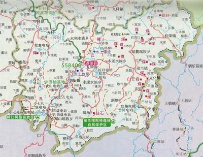 河池环江县乡镇地图