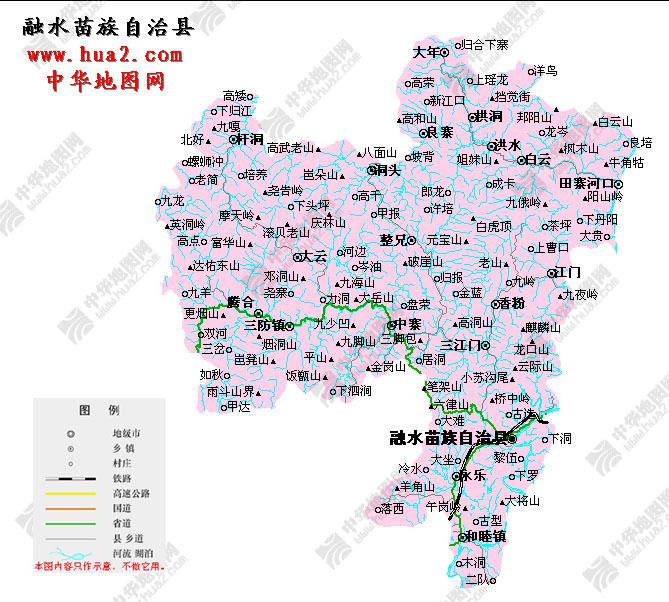 柳州地图 - 大呼拉尔