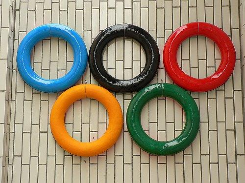 幼儿园奥运手工制作