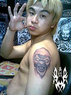 舞者的纹身