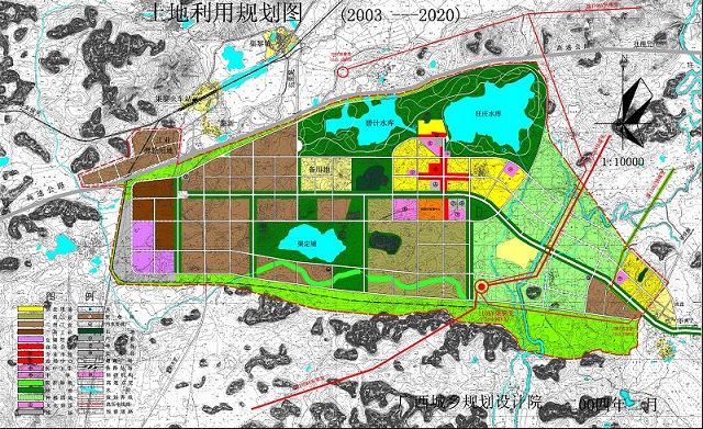仁寿工业园规划图