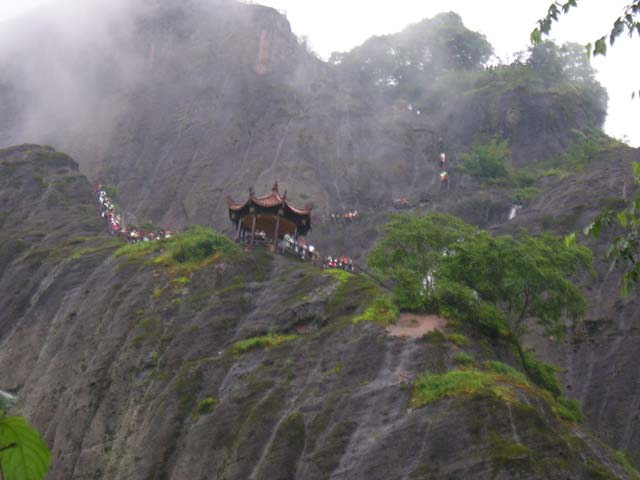 这是我从广州出差到福建武夷山风景区旅游时所拍的
