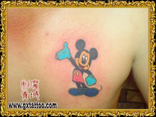 可爱的米老鼠 - 广西南宁魔域纹身店