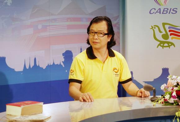 民歌晚会前电视直播我的专访(之三) - 林德荣广西娱乐图片