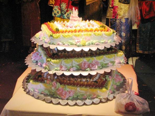 生日蛋糕 高层儿童