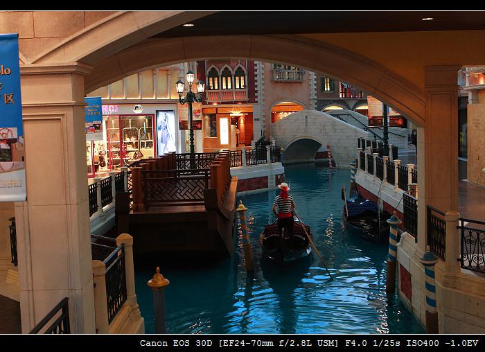 海上威尼斯_澳门威尼斯人酒店之大运河商场 - 当代摄郎 - 红豆博客