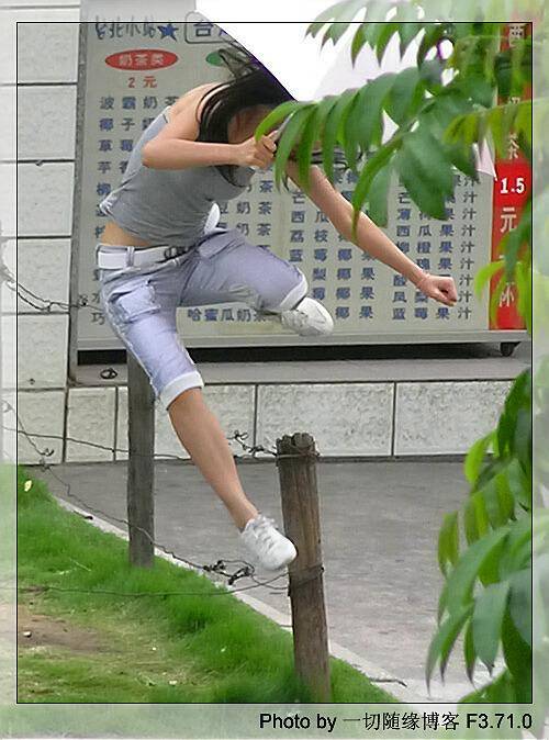 南宁mm跨栏姿势大观pp
