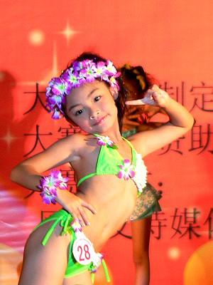 2009全国少儿模特大赛梧州赛区决赛