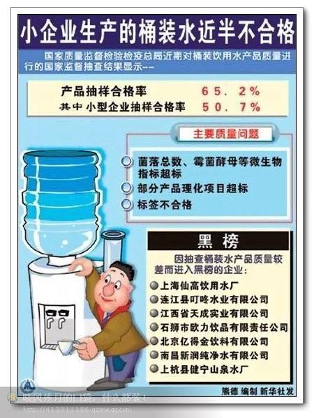 我们还有什么勇气去喝桶装水