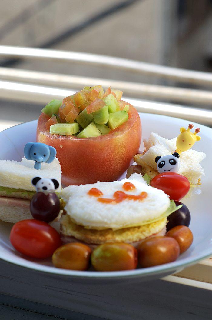 diy可爱卡通营养早餐集合,你也可以做哦!