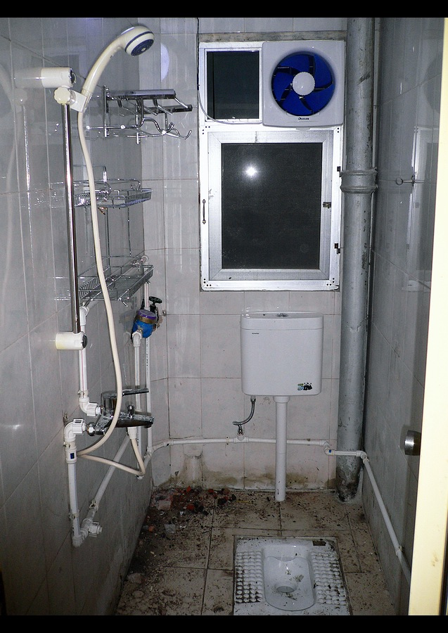 卫生间改造的过程图片