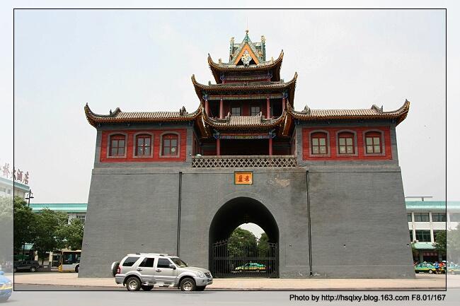 宁夏街头的古建筑【图文】 - 一切随缘 - 小桥流水人家的博客